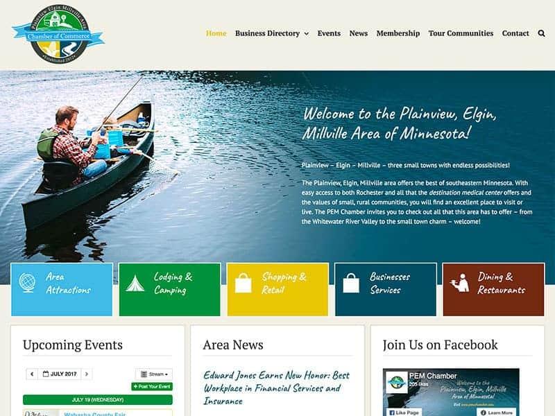 City Chamber Website Design