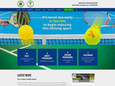 Winona Tennis Website