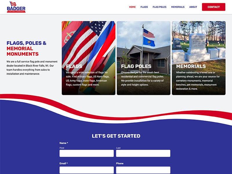 Consumer Manufacturing Website Design