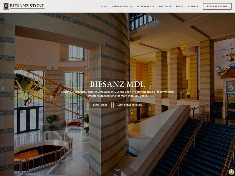 Industrial Manufacturing Website Design