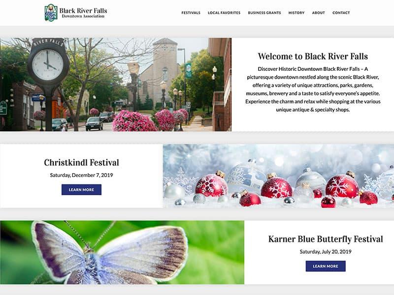 Municipality Website Design