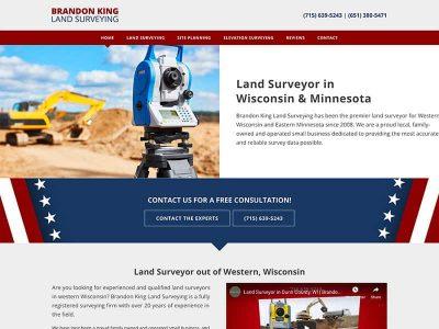 Brandon King Land Surveying