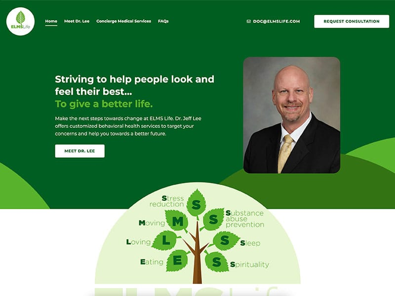 Health Care Website Desig