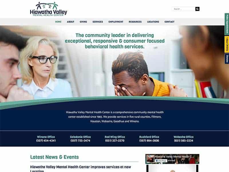 Medical Service Website Design