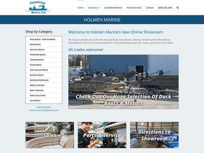 Holmen Marine Website