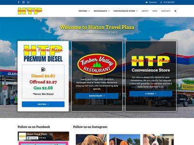Hixton Travel Plaza Website