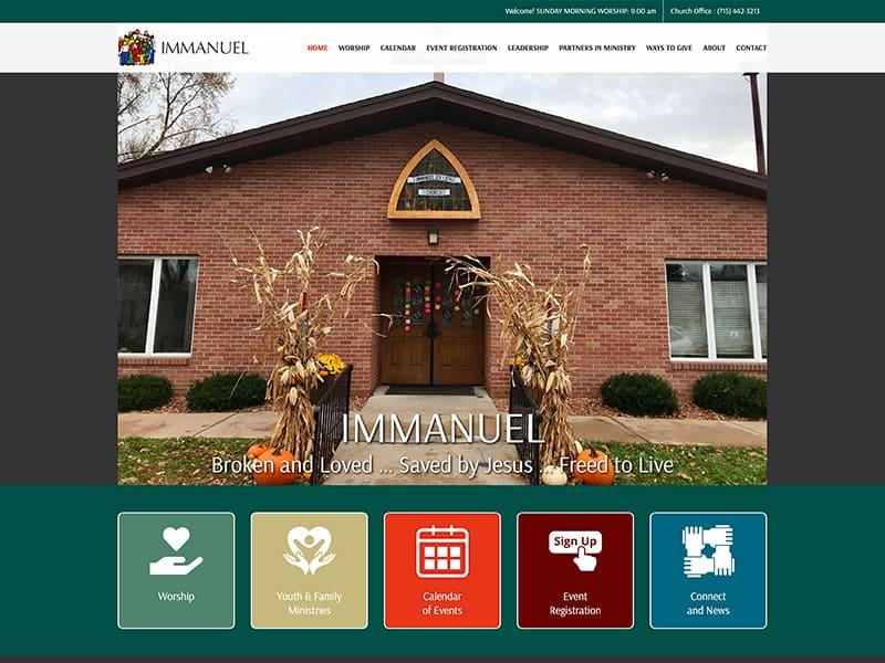 Lutheran Church Website Design