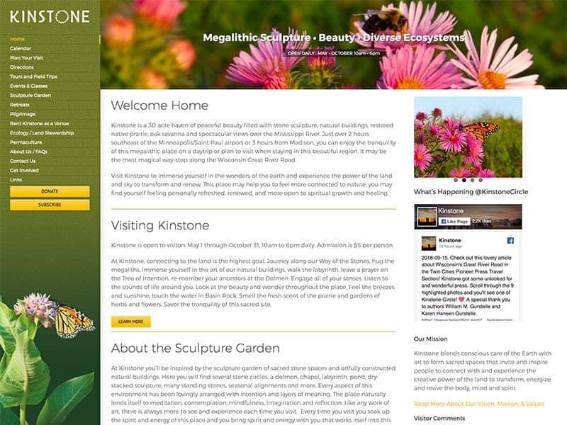 Tourist Destination Website Design