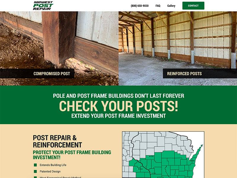 Building & Construction Website Design