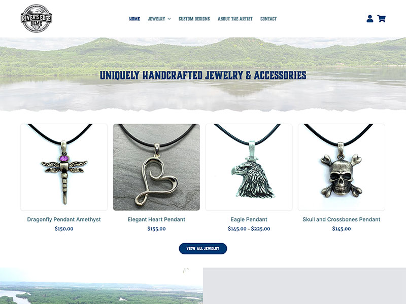 Retail Website Design