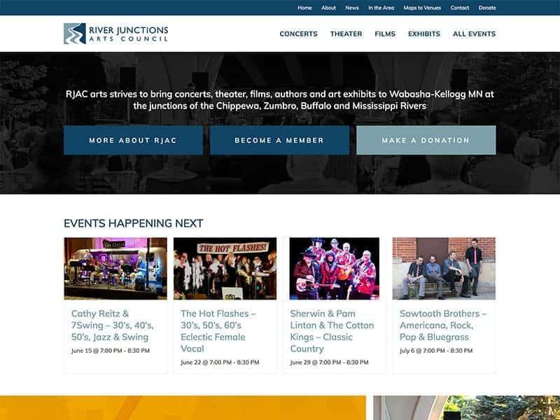 Community Organization Website Design