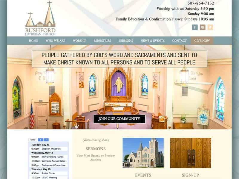 Rushford Lutheran Church