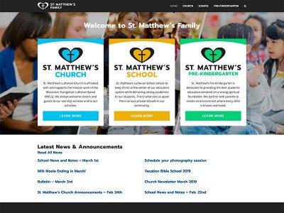 St. Matthew's Lutheran Family