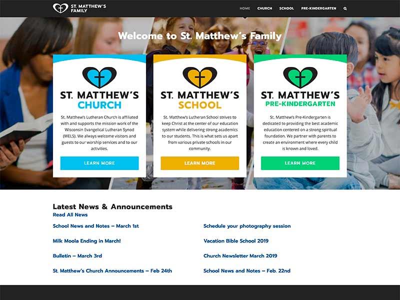 St. Matthew's Lutheran Family - Church, School & Pre-Kindergarten