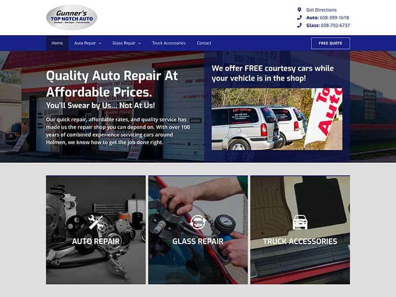 Top Notch Auto Website