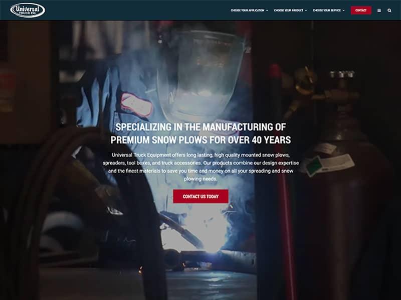 Automotive Repair Website Design