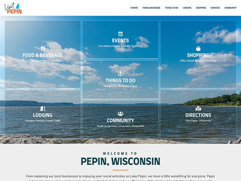 Municipality & Tourism Website Design