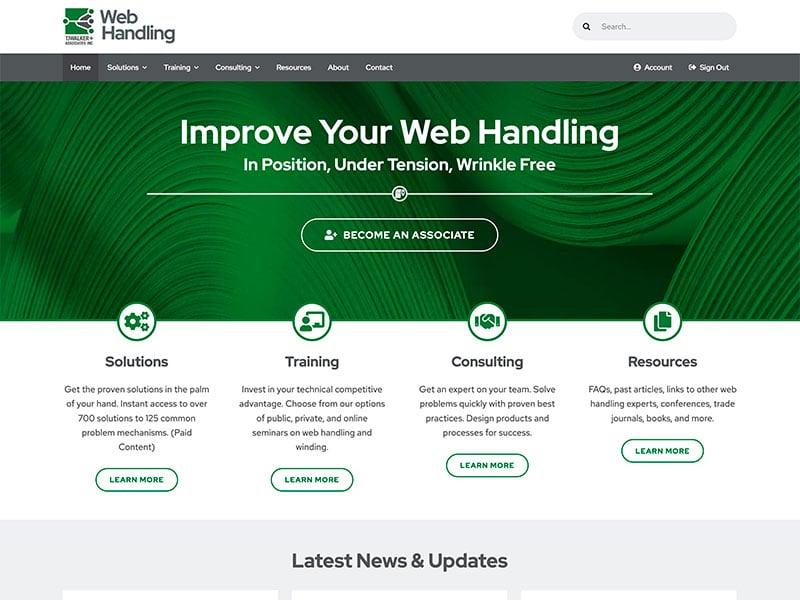 Professional Service Website Design