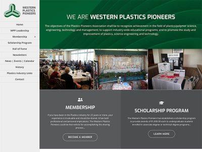 Western Plastics Pioneers Website