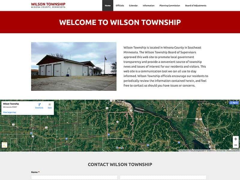 Township Website Design