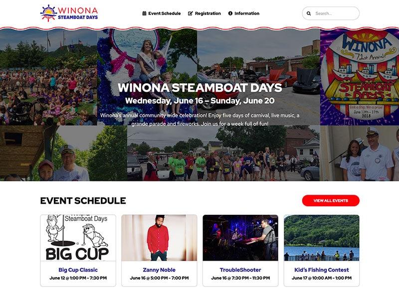 Festival Website Design