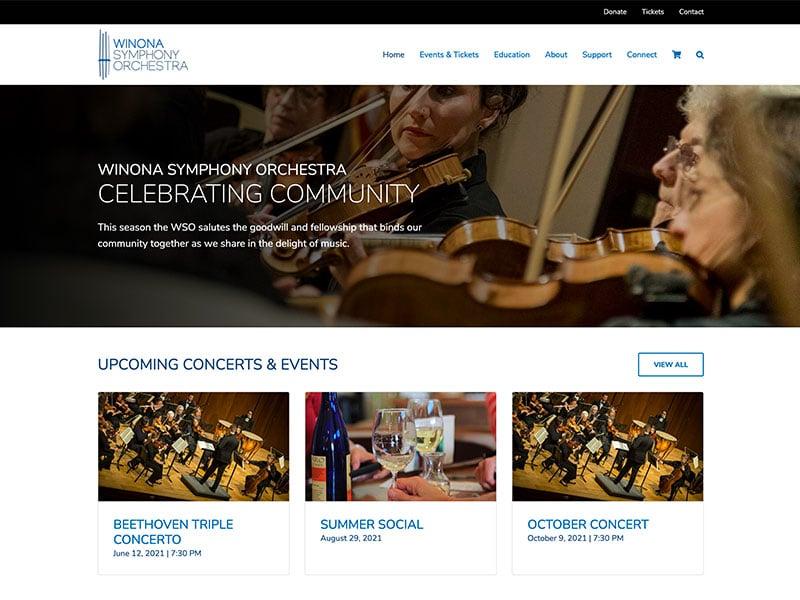 Event Website Design - WSO